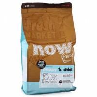 NOW Fresh Puppy Large Breed Recipe Grain Free Беззерновой сухой корм для Щенков Крупных пород с Индейкой, Уткой и овощами