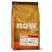 NOW Fresh Senior Recipe Grain Free Беззерновой сухой корм для Собак с Индейкой, Уткой и овощами (Контроль веса)