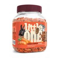 Little One Лакомство Сушеная Морковь 200 г для грызунов