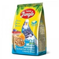 Нappy Jungle корм для волнистых попугаев в период линьки 500 гр
