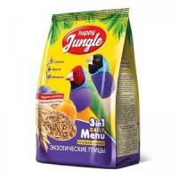 Happy Jungle  корм для экзотических птиц 500 гр