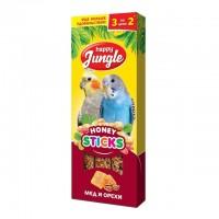 Happy Jungle Колба для птиц Мёд и Орехи (3 палочки) 90 г