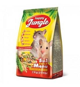 Happy Jungle корм для грызунов 350 гр