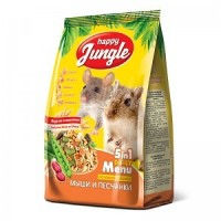 Happy Jungle корм для мышей и песчанок 400 гр