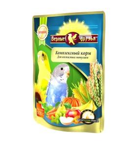 Верные Друзья Премиум  корм для волнистых попугаев 500 гр