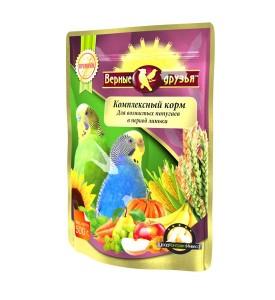 Верные Друзья Премиум  корм для волнистых попугаев в период линьки 500 гр