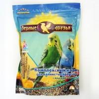 Верные Друзья Премиум корм для волнистых попугаев с морской капустой  500 гр
