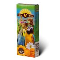 Верные Друзья колба для попугаев с абрикосом 150 гр