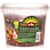 Верные Друзья корм для мелких грызунов  900 гр (ведро)