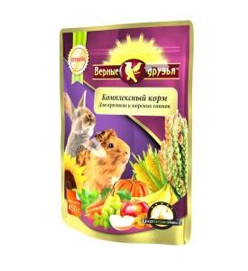 Верные Друзья Премиум  корм для кроликов и морских свинок 450 гр