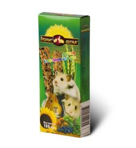 Верные Друзья колба для грызунов с орехом/лесными ягодами 150 гр