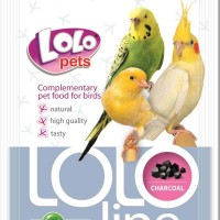 Lolo добавка уголь для птиц 10 г