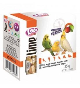 Lolo мел для птиц с яблоком 35г