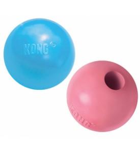 """Kong Puppy игрушка для щенков """"Мячик""""  6 см (розовый, голубой)"""