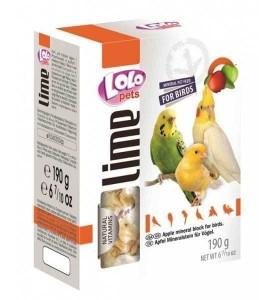 Lolo мел для птиц с яблоком XL 190г
