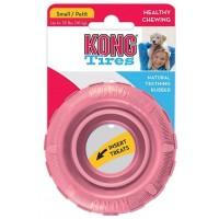 """KONG Puppy игрушка для щенков """"Шина"""" малая диаметр 9 см (розовый, голубой)"""
