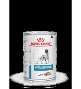 Royal Canin Hypoallergenic Влажная диета для собак с пищевой аллергией или непереносимостью