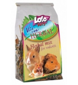Добавка Lolo для грызунов HERBAL Смесь лекарственных трав 40 г