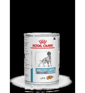 Sensitivity Control Duck with Rice (Утка с рисом) Влажная диета для собак при пищевой аллергии или непереносимости