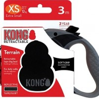 KONG рулетка Terrain XS (до 12 кг) лента 3 метров черный