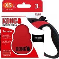KONG рулетка Terrain XS (до 12 кг) лента 3 метров красный