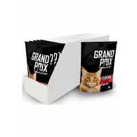 GRAND PRIX влажный корм кусочки в соусе (Телятина/Тыква) 85г