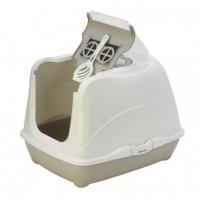Moderna био-туалет Flip Cat 50x39x37h см с совком, серый