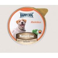 Happy Dog Natur Line влажный корм для собак индейка нежный паштет 85 гр