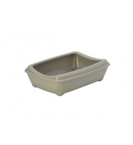 Moderna туалет-лоток Arist-o-tray M c бортом 43x30x12h см, серый