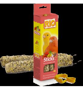 Rio колба для канареек с мёдом,полезными семенами 2*40 гр
