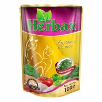 Herbax влажный корм для кошек  Курочка с Морской капустой 100 гр
