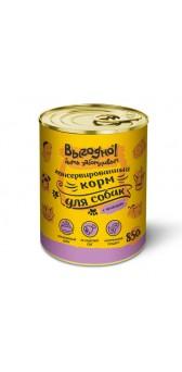 Выгодно влажный корм для собак 850 гр (желе с ягненком)