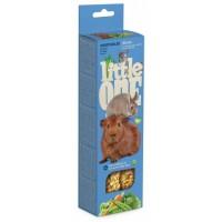 Колба Little One морские свинки,кролики,шиншиллы с Овощями 2*60 г
