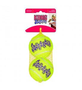 """KONG игрушка для собак Air """"Теннисный мяч"""" средний (в упаковке 3 шт.) 6 см"""