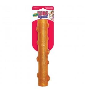 KONG игрушка для собак Squezz Crackle хрустящая палочка большая 27 см цвета в ассортименте