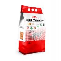 ECO Premium наполнитель для кошек древесный комкующийся Персик 5 л