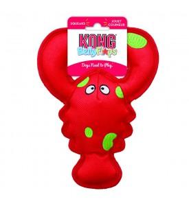 KONG игрушка для собак Belly Flops Лобстер 21х9 см