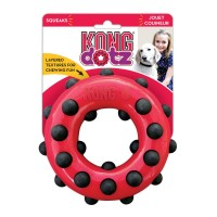 KONG игрушка для собак Dotz кольцо большое 15 см