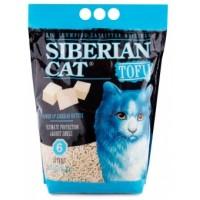 Сибирская Кошка наполнитель для кошек  Тофу Оригинальный 6л биоразлагаемый комкующие