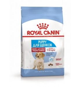 Royal Canin Medium Puppy Корм для щенков средних пород с 2 до 12 месяцев