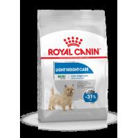 Royal Canin Mini Light Weight Care Корм для собак мелких пород, предрасположенных к избыточному весу