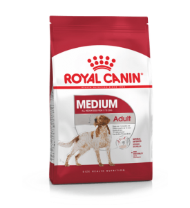 Royal Canin Medium Adult Корм для взрослых собак средних пород (весом от 11 до 25 кг) в возрасте от 12 месяцев до 7 лет